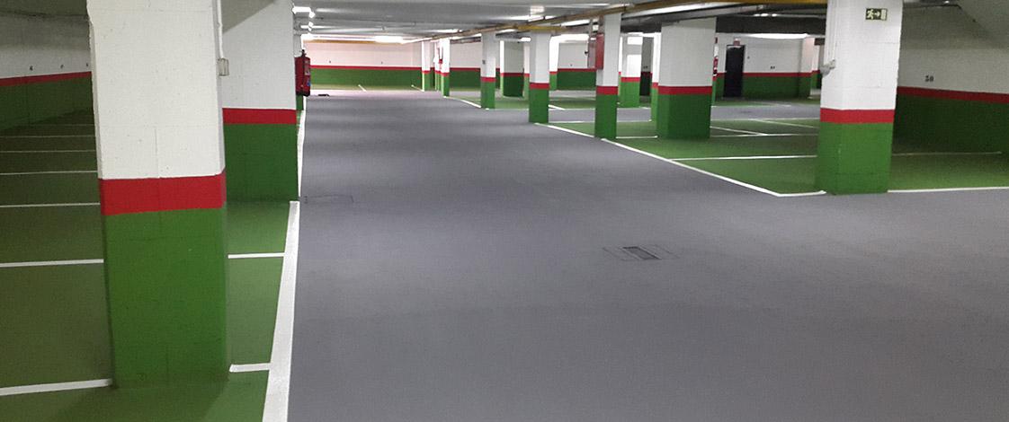 Pavimentos Resina Epoxi En Garajes