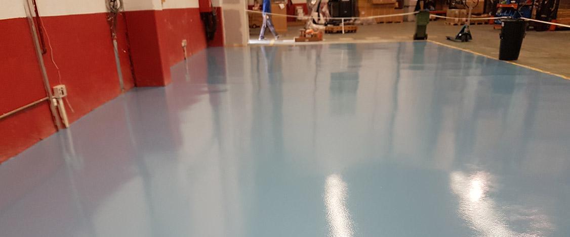 Ejecucion Pavimento Decorativo Cuarzo Color